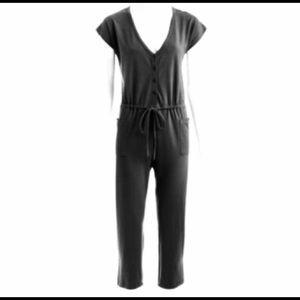 Norma kamali cotton casual romper / jumpsuit.